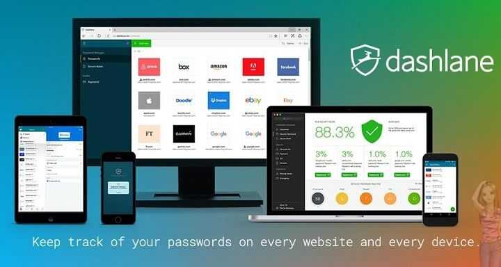 Télécharger Dashlane Password Manager pour Windows PC et Mac