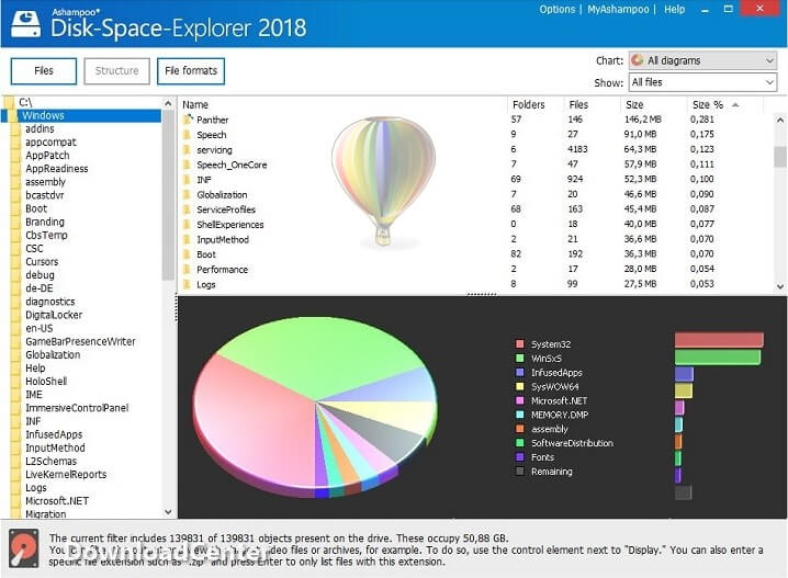 Download Disk-Space-Explorer 2018 to Analyze Hard Drive for PC
