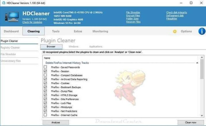 Download HDCleaner - Maintain Clean and Speed Up Your PC
