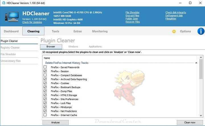 Download HDCleaner - Maintain Clean & Speed Up Windows PC