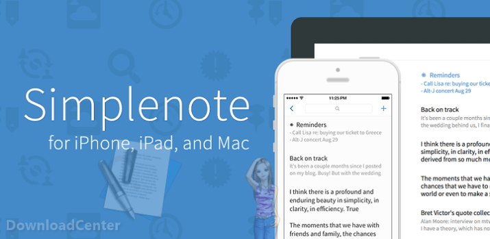 Download Simplenote Take Notes for PC, Mac, Linux & Android