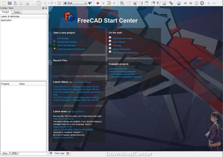 Descargar FreeCAD 3D Graphics Designers para Windows, Mac y Linux