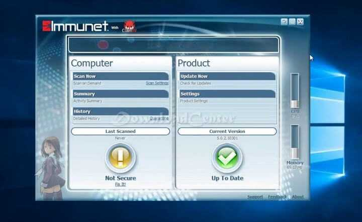 Download Immunet Anti-Malware and Antivirus Protection Free