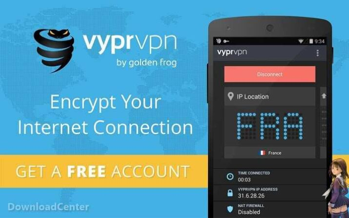 VyprVPN Secure and Unblock Sites Free Download for PC