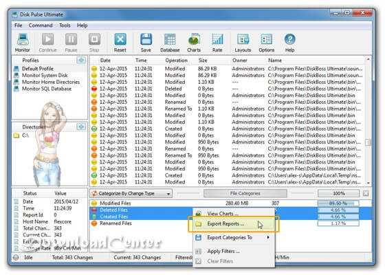 Descargar Disk Pulse Analiza Disco Duro a Windows Gratis