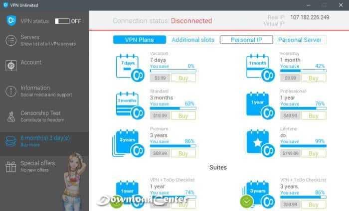 Download VPN Unlimited Surf Blocked Site