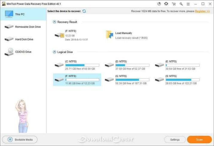 Descargar MiniTool Power Data Recovery Gratis para Windows