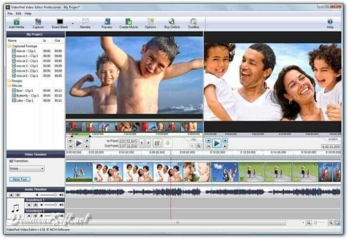 DownloadVideoPad Video Editor Free Software for Everyone