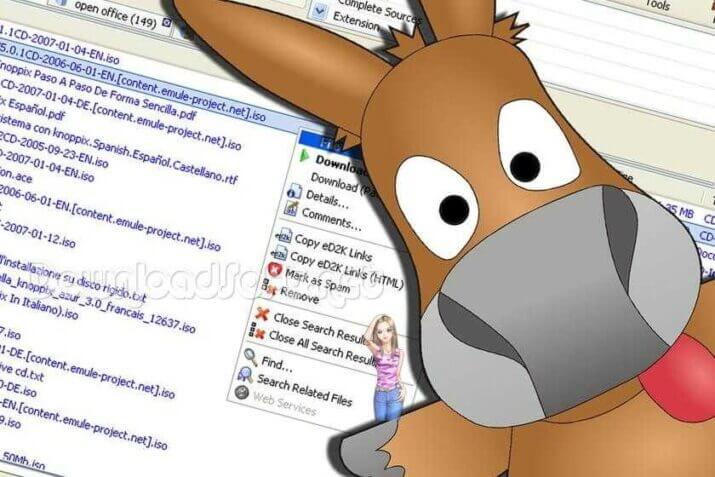 Download eMule Free Share Multimedia Files and Documents