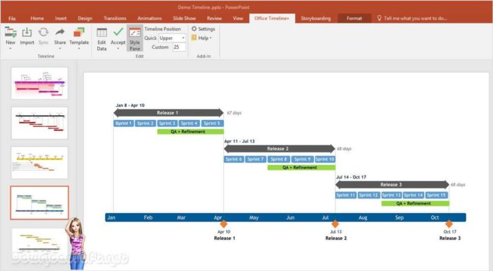 Download Office Timeline Create Schedules Easily Free