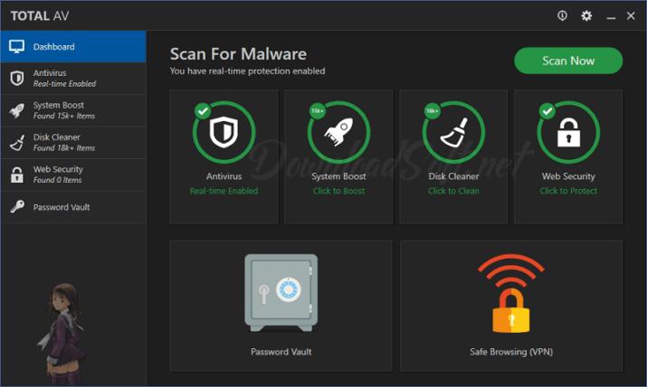 تحميل برنامج Total AV للحماية الكاملة من الفيروسات مجــــانا