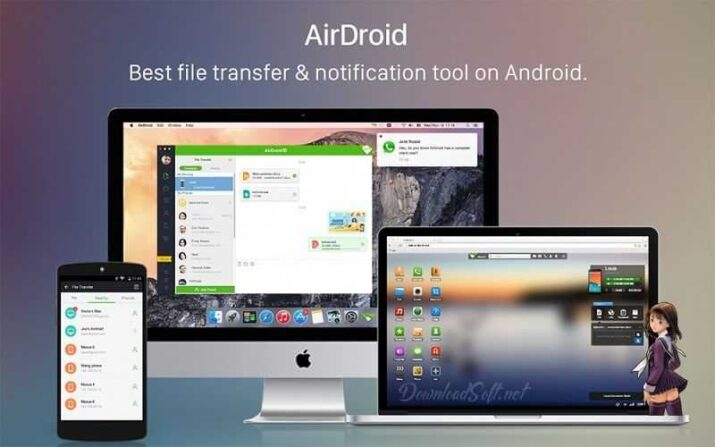 Download AirDroid - Manage Your Android Device From PC Fre