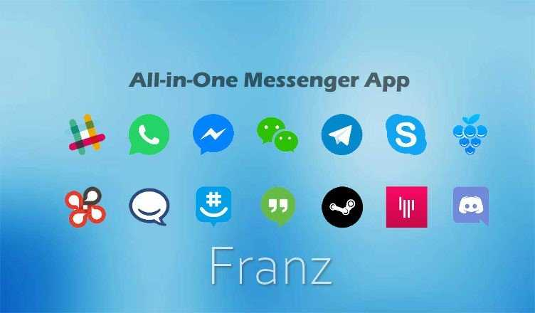 Download Franz 2021 - Combine Chat & Messaging Into One App