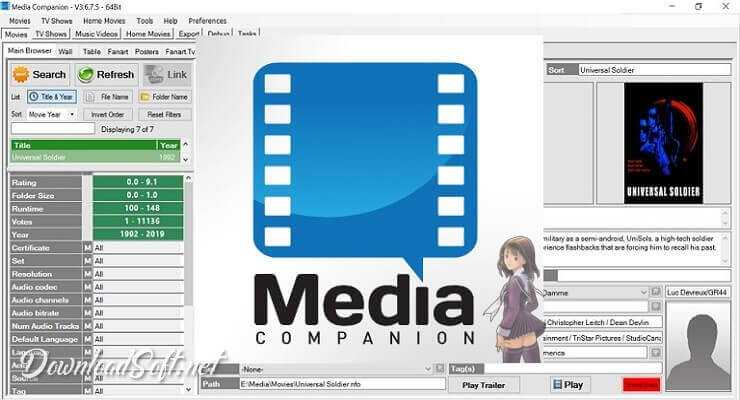 Photo of Descargar Media Companion – Información de Películas Gratis