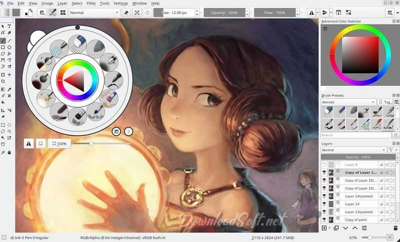 Download Krita 2021 Free Open Source Design and Coloring