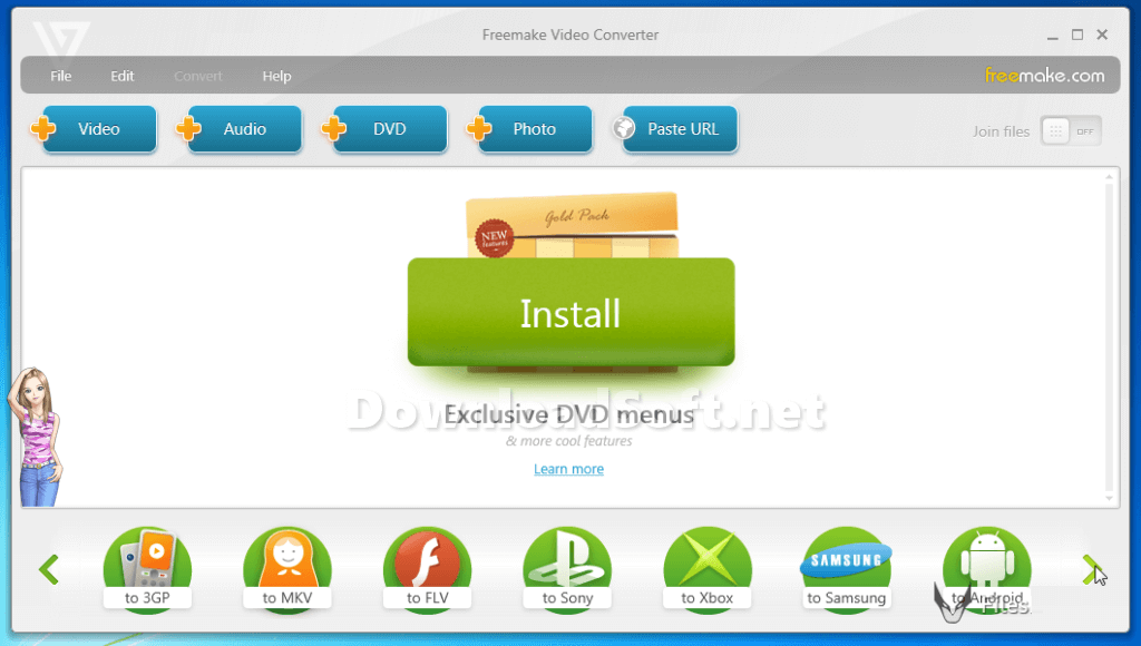Download Freemake Video Converter for Windows 32/64 bit
