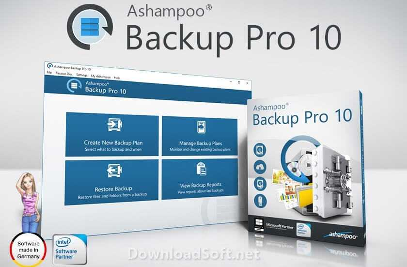 Download Ashampoo Backup Pro 10 (Latest 2020) for Windows