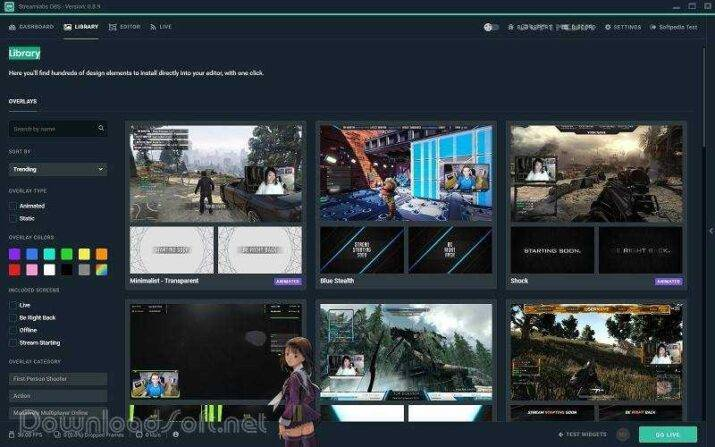 Download Streamlabs OBS Professional Free Live Streaming
