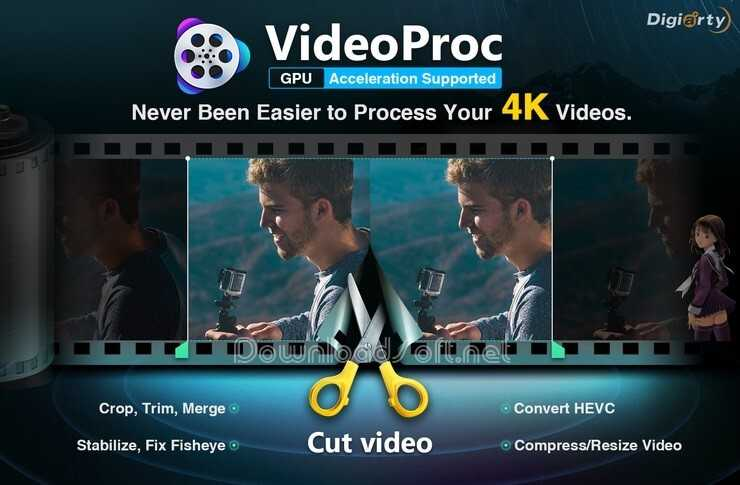 Download VideoProc Free Video Editor for Windows and Mac