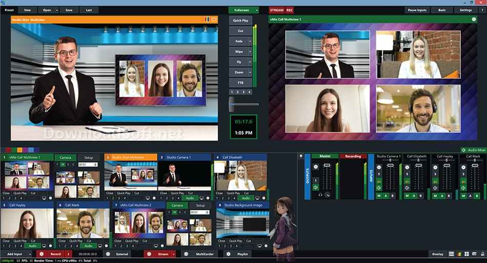 Download vMix 2021 Live Video Streaming for Windows & Mac