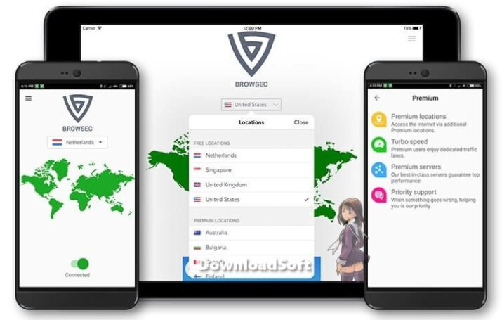 Download Browsec VPN 2021 Free for More Secure Browsing