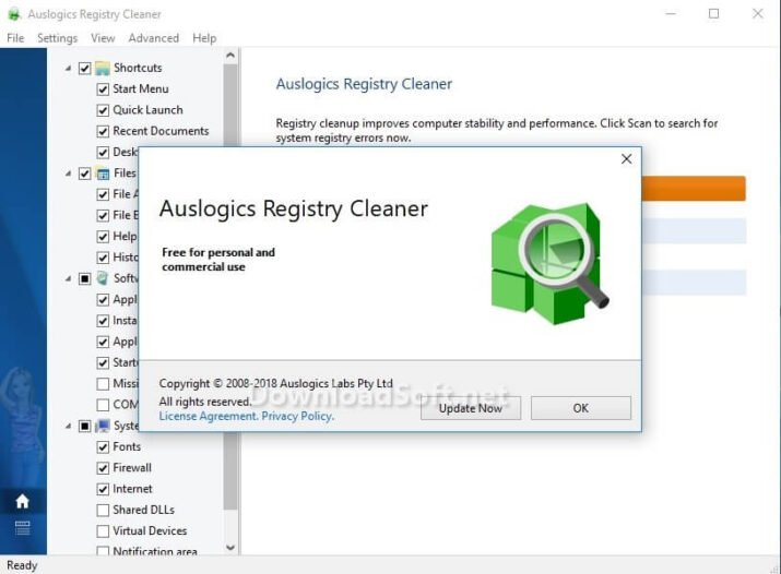 Download Auslogics Registry Cleaner 2021 for Windows Free