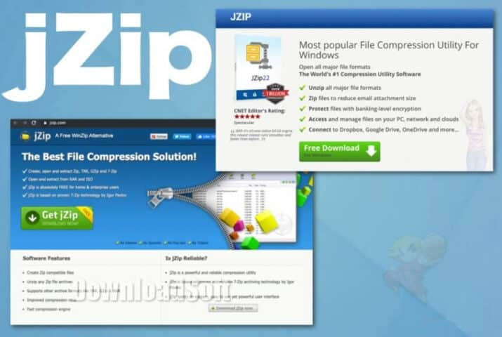 Download JZip Latest Version 2021 for Windows 32/64-bit
