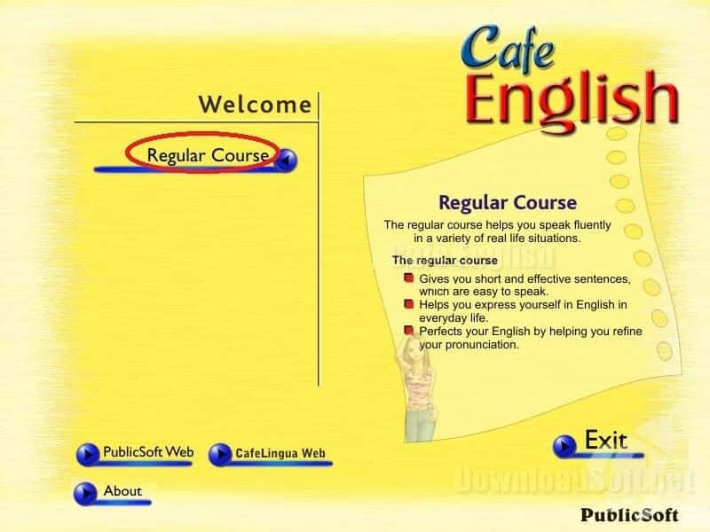 Cafe English Download Free