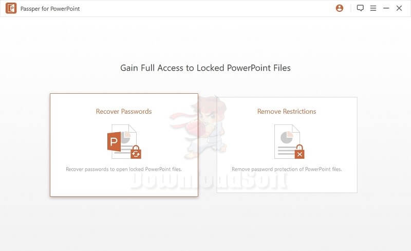 Download Passper for PowerPoint Free for Windows