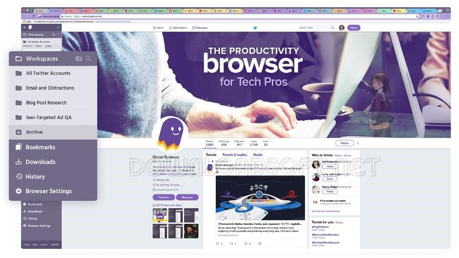 Download Ghost Browser Free