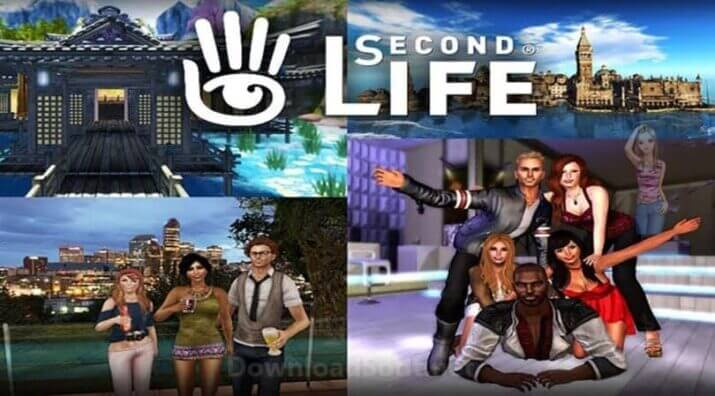 Second Life Best 3D Game Free Download for Windows and Mac