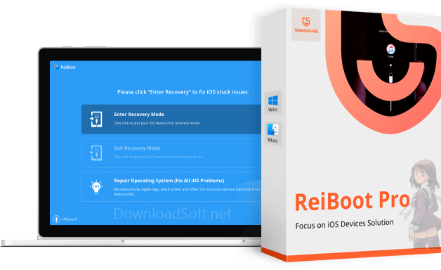 Tenorshare ReiBoot Free Download iPhone Recovery