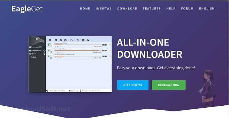 EagleGet All-In-One Free Download Manager