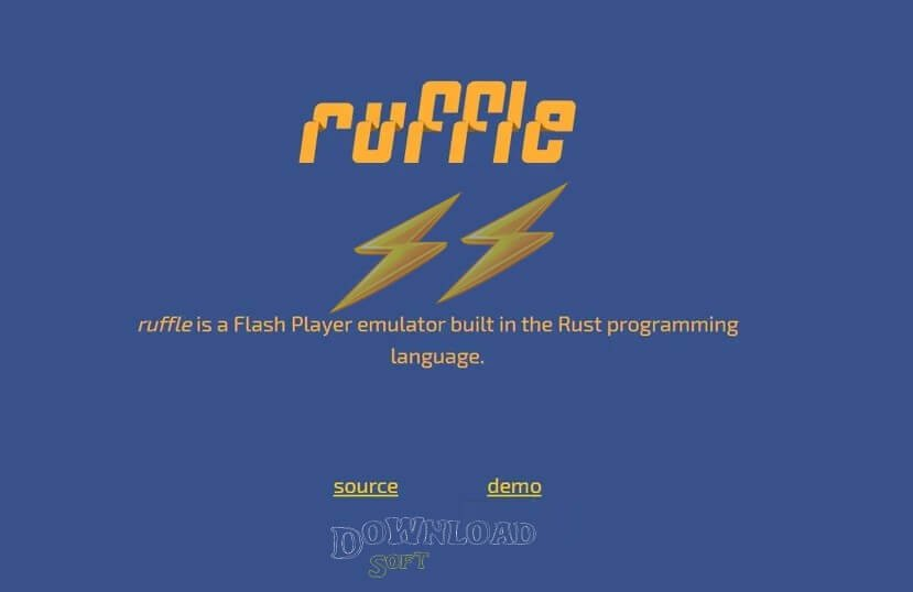 ruffle a flash player emulator free