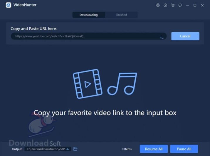 VideoHunter Free Video Downloader for Windows and Mac