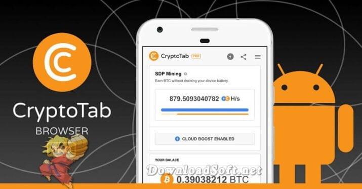 Télécharger CryptoTab Browser Surfer et Gagner en Même Temps