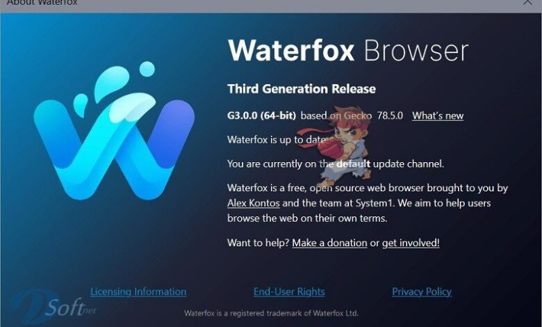 Download WaterfoxBrowserFree